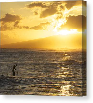 Surfing Canvas Prints