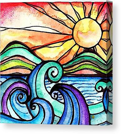 Beach Canvas Prints