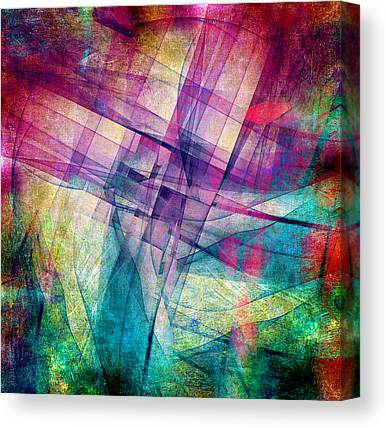 Block Digital Art Canvas Prints
