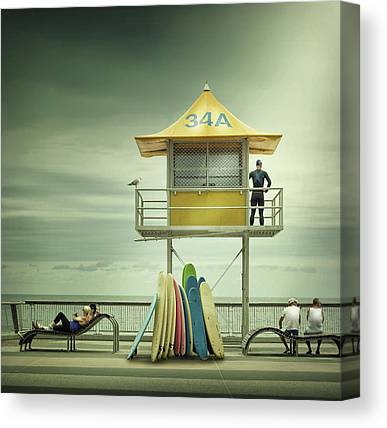 Guard Tower Canvas Prints