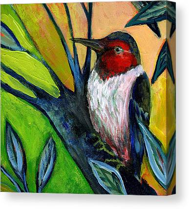 Woodpeckers Canvas Prints