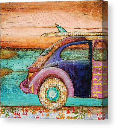 Beetle Canvas Prints