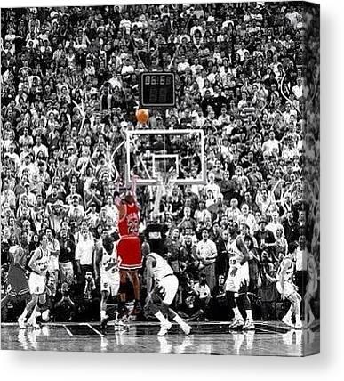 Michael Jordan Canvas Prints