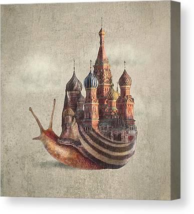 Serene Drawings Canvas Prints
