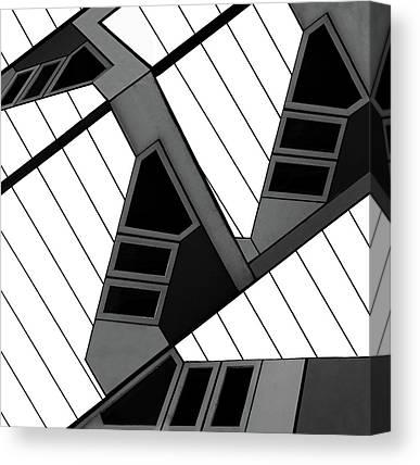 Cube House Canvas Prints