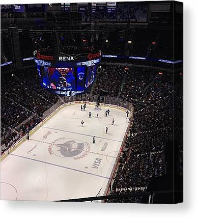 Vancouver Canucks Canvas Prints