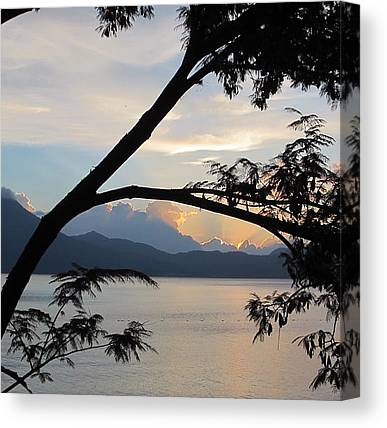 Volcanoes Canvas Prints
