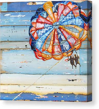 Parasail Canvas Prints