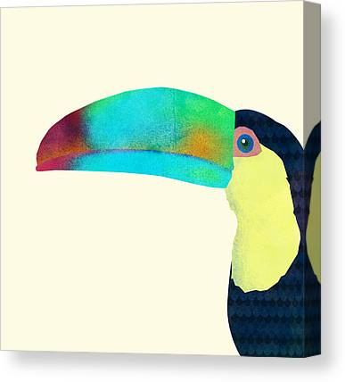 Toucans Canvas Prints