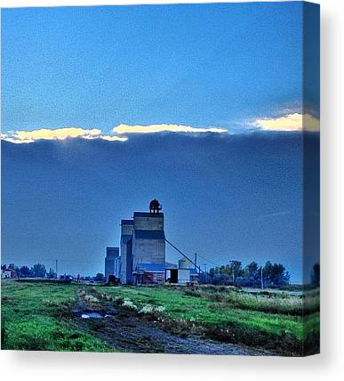 Hailstorms Canvas Prints