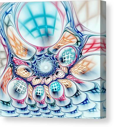 Abstract Handbag Canvas Prints