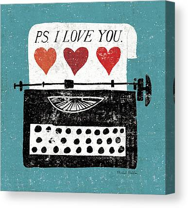 Typewriter Canvas Prints
