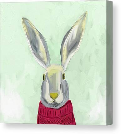 Rabbits Canvas Prints