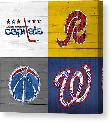 Washington Nationals Canvas Prints