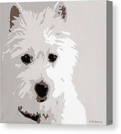 Canine Art Canvas Prints