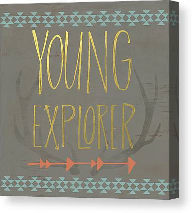 Young Paintings Canvas Prints
