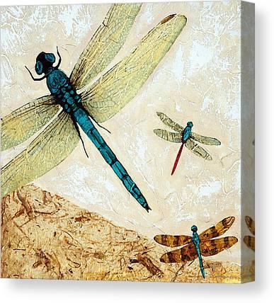 Flies Mixed Media Canvas Prints