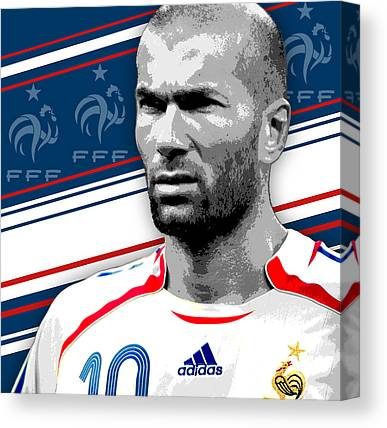 Uefa Champions Canvas Prints