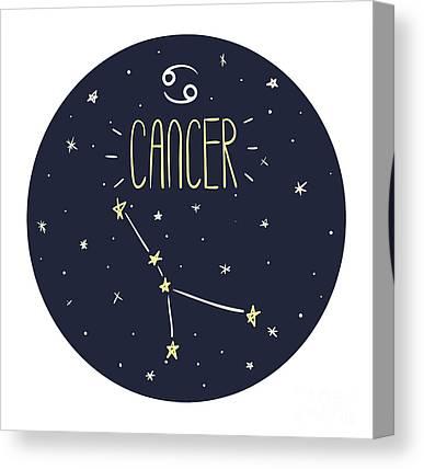 Astrological Canvas Prints