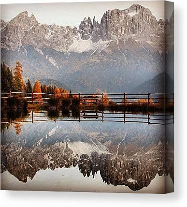 Dolomites Canvas Prints