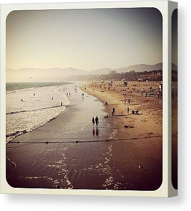 Santa Monica Canvas Prints