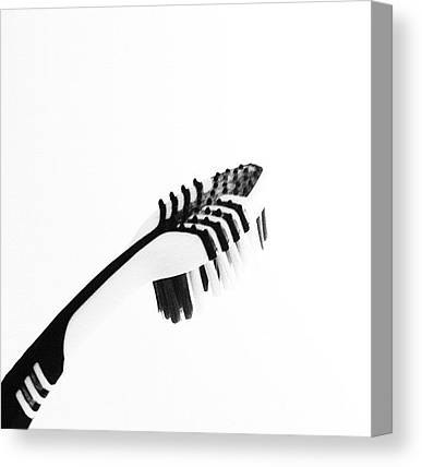 Toothbrush Canvas Prints