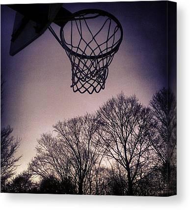 Basketball Players Canvas Prints