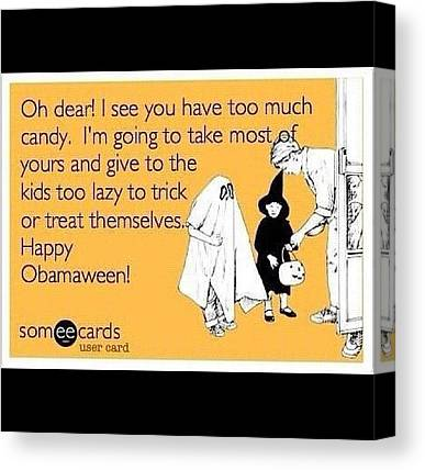 Obamacare Canvas Prints