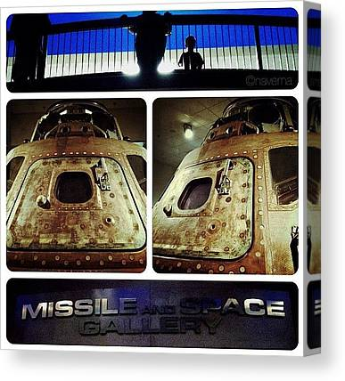Astronauts Canvas Prints