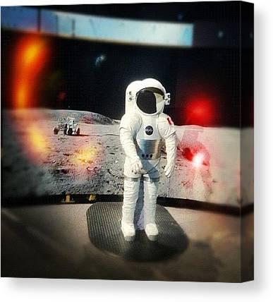 Space Suit Canvas Prints
