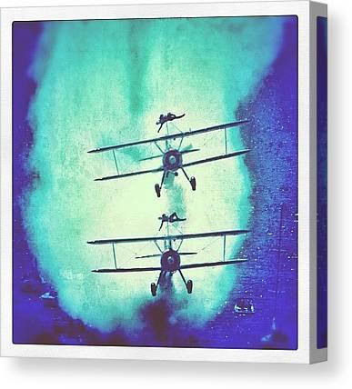 Biplane Canvas Prints