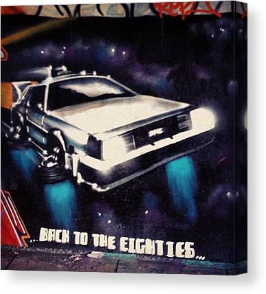 Back To The Future Canvas Prints