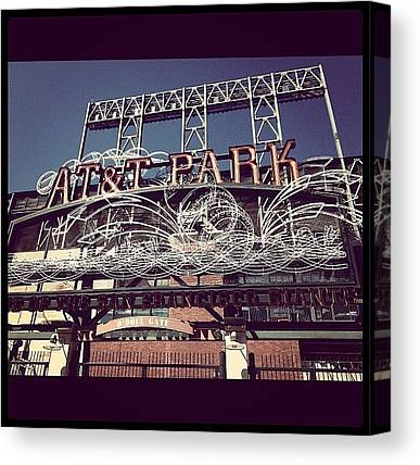 San Francisco Giants Canvas Prints