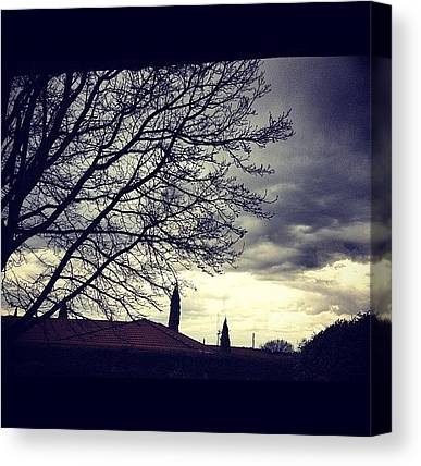 Thunderclouds Canvas Prints