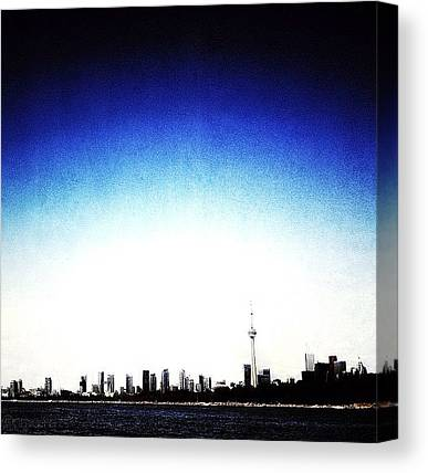 Toronto Skyline Canvas Prints