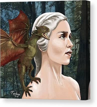 Tv Shows Canvas Prints