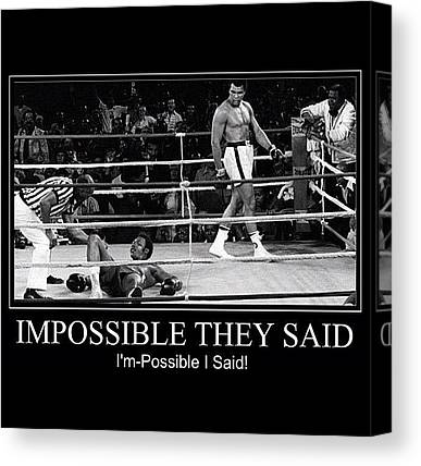 George Foreman Canvas Prints