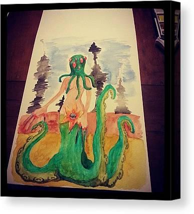Cthulhu Canvas Prints