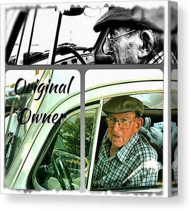 Old Age Canvas Prints