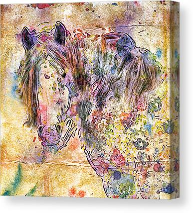 Gypsyhorse Canvas Prints