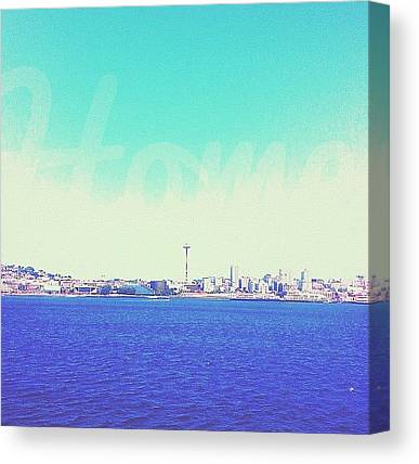 Seattle Skyline Canvas Prints