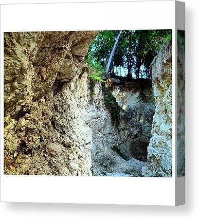 Limestone Caves Canvas Prints