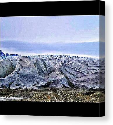 Vatnajokull Glacier Canvas Prints