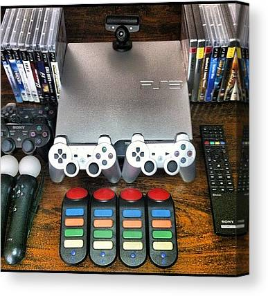 Gaming Consoles Canvas Prints