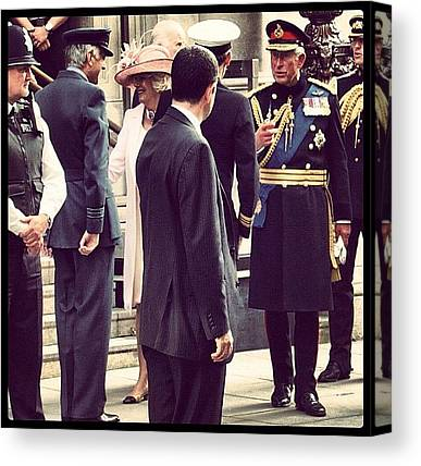 Prince Charles Canvas Prints