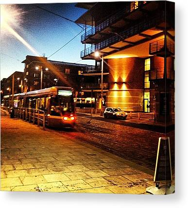 Light Rail Canvas Prints
