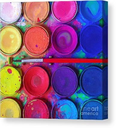 Contrasting Colors Canvas Prints