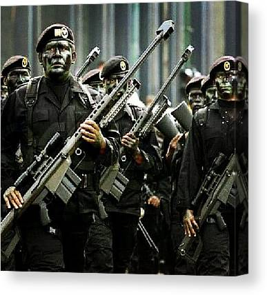 Special Forces Canvas Prints