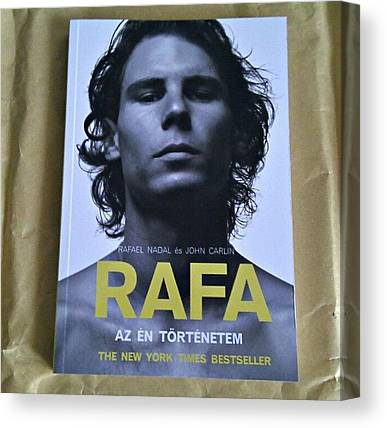 Rafael Nadal Canvas Prints