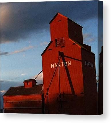Prairie Sunsets Canvas Prints